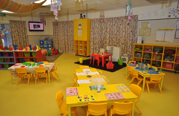 Kidz club child care educational centre toddler room - Home daycare ideas for decorating ideas ...